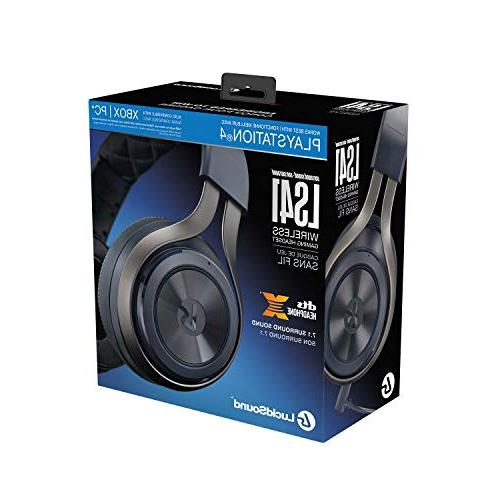 LucidSound LS41 Surround Sound Headset PS4, Xbox One, Nintendo Switch, Mac, DTS Headphone: X headphones - PlayStation