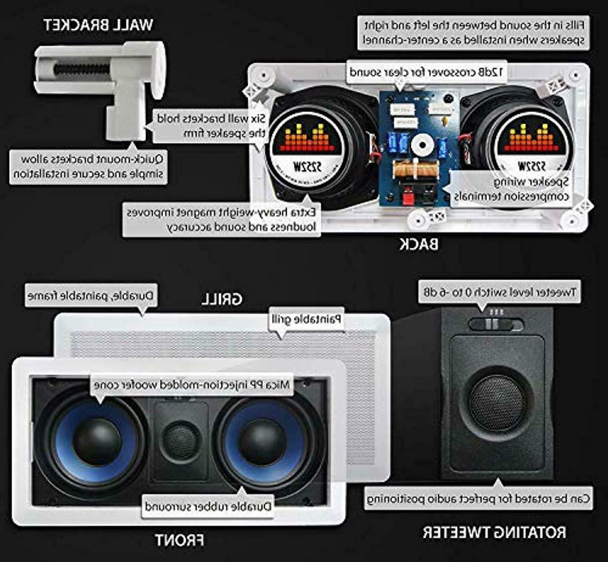 Micca Sound Speaker Wall Ceiling