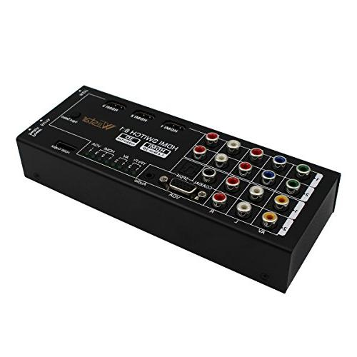 Multi-Functional HDMI Audio with to 1 VGA / Audio Optical / Coaxial Channel Surround