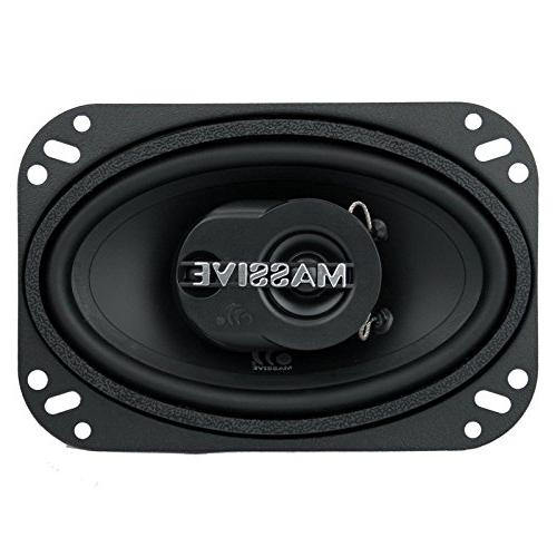 Massive Audio MX46 Series Watts, 4 RMS Inch Way Enjoy Crystal with These Great Speaker System