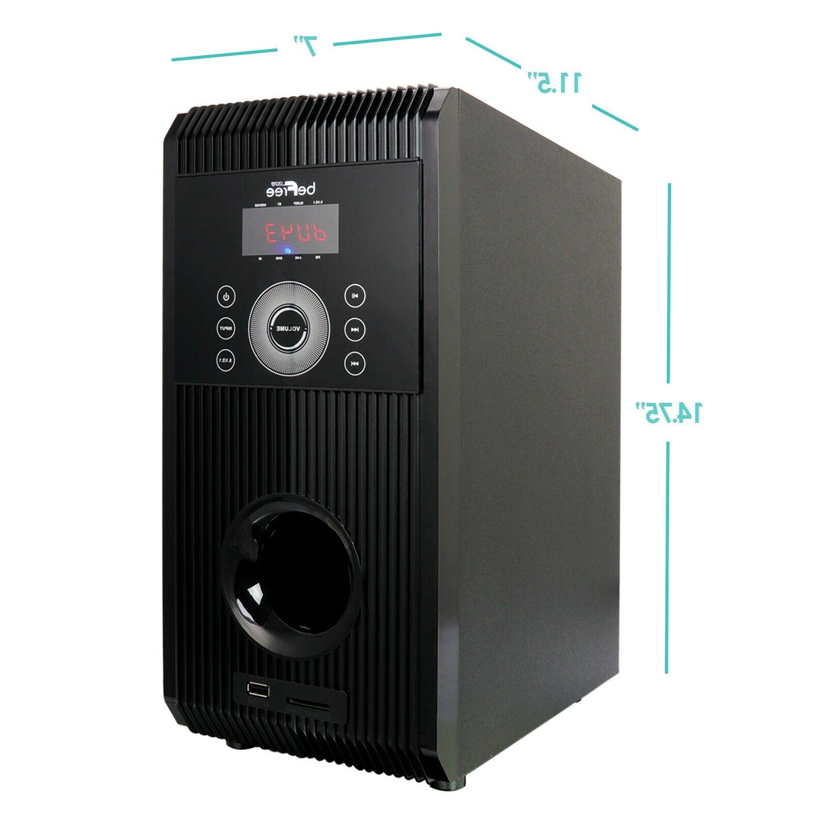 NEW CHANNEL HOME SURROUND SYSTEM BLUETOOTH