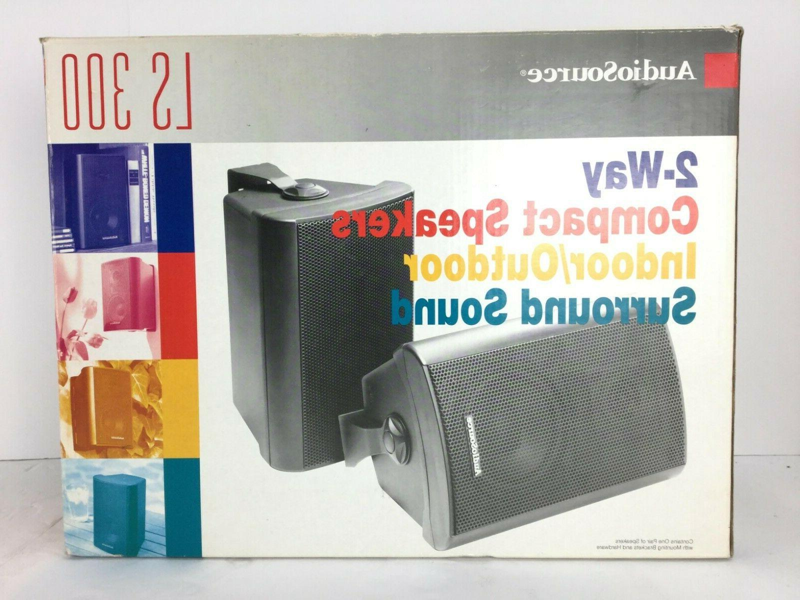 new audiosourse ls300 2 way compact indoor