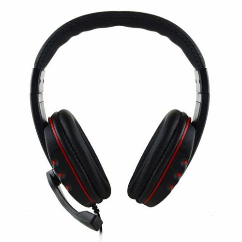 New Stereo Sound Game Headphone For Xboxone US