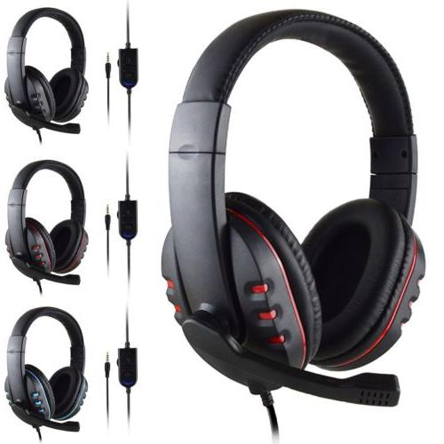 New Stereo Surround Sound Headphone For PS4 Xboxone
