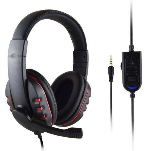 new mic stereo surround sound game headphone