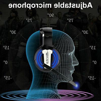 Gaming Headset Surround Headphone Xbox PS4