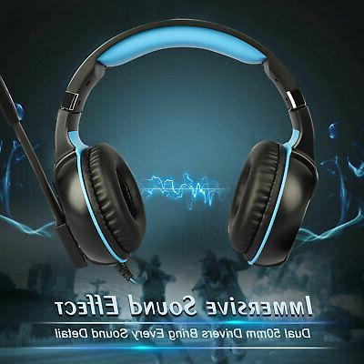 Gaming Headphone w/Adjustable Headband for Xbox