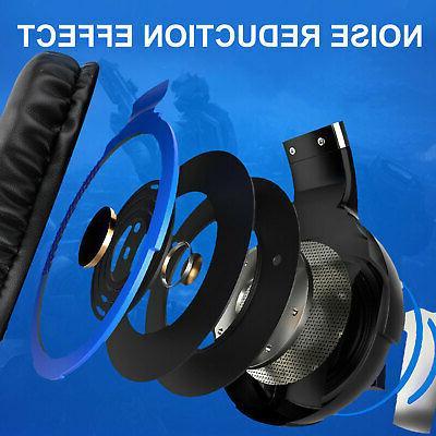Gaming Headphone w/Adjustable Xbox PS4