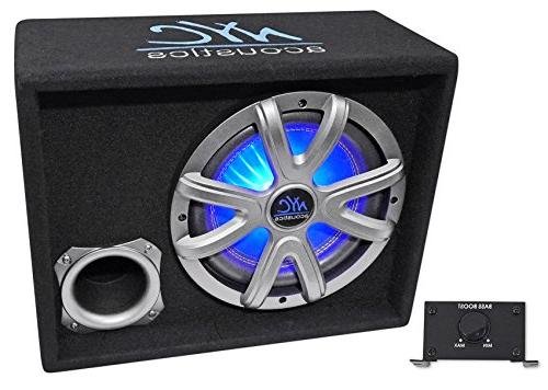 nse10l powered amplified car subwoofer