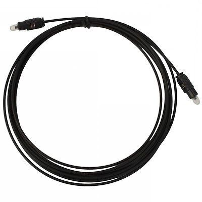 NEW* 10 FT Digital Fiber Optic Surround Sound Cable For SONY