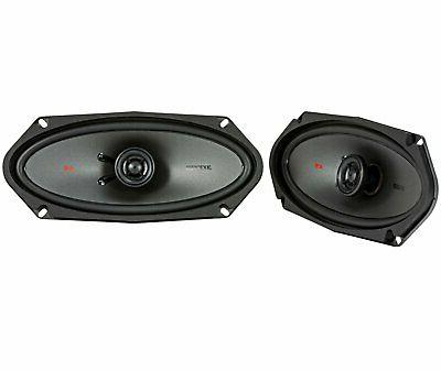 "Pair Kicker 44KSC41004 4x10"" 300 Watt 2-Way Car Audio Coaxia"