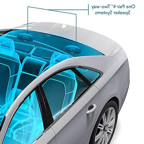 "4"" Car Speaker - Poly Injection Watt Peak w/ Butyl Surround 4 Ohm ASV Voice Coil Pyle PL42BL"