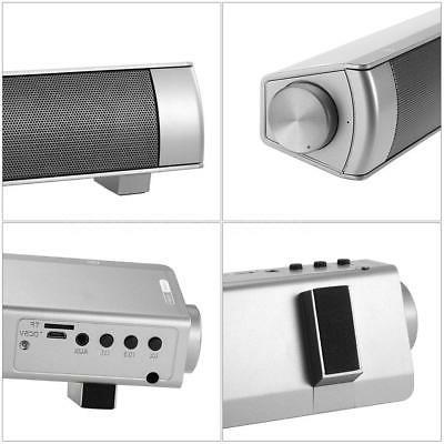 Powerful Sound Bar Bluetooth Speaker AUX