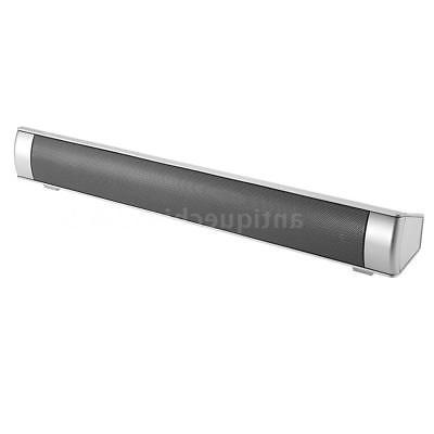 Powerful Surround Bar Bluetooth TV Speaker Home AUX