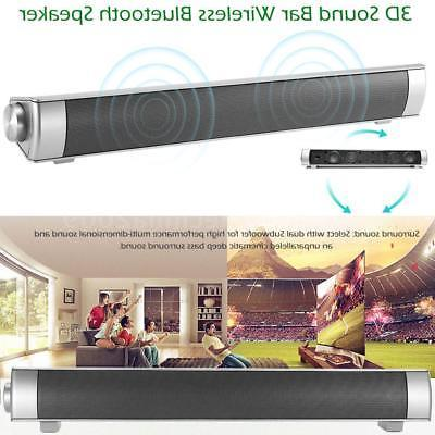Powerful Bar System Speaker Theater AUX