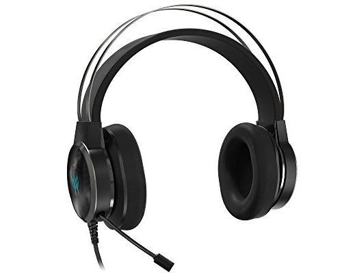 Acer Predator Galea Gaming Headset, EQ 3D Virtual 7.1 Gyro Sensor Built-in Best VR