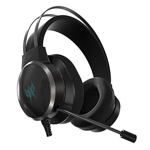 Acer Predator Gaming Headset, EQ Controller, 3D 7.1 Gyro Sensor Best VR
