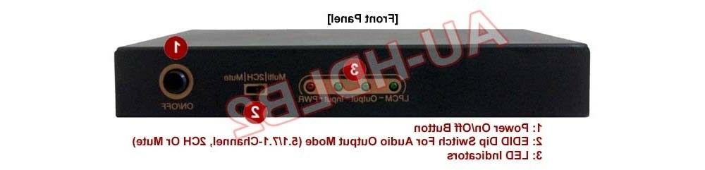 Premium HDMI LPCM 5.1 To Sound Converter