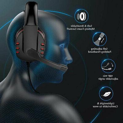 Pro Gamer Headset Bass Surround Headphone