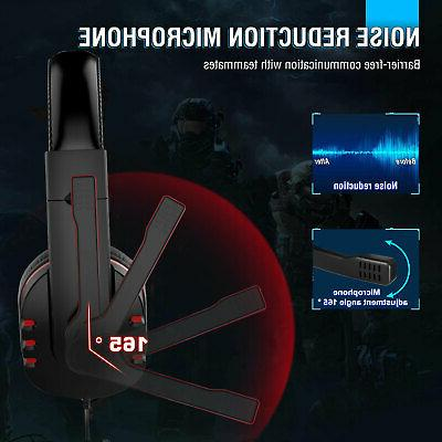 Pro Headset Stereo Bass Headphone For