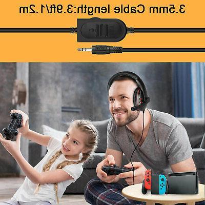 Pro Gaming Headset Bass Headphone One/PC