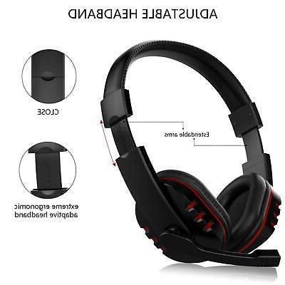 Pro Gamer Gaming Headset Stereo Surround Headphone