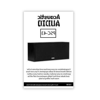 Acoustic Audio PSC43 Theater