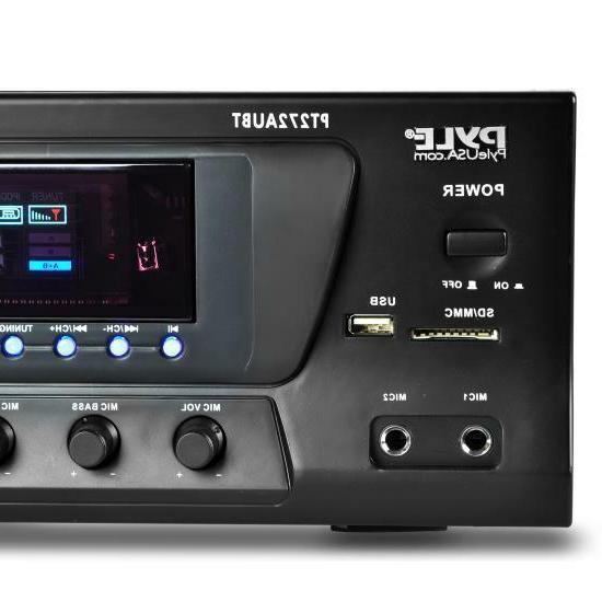 Pyle 300 Watt Stereo USB/SD,Bluetooth AM-FM