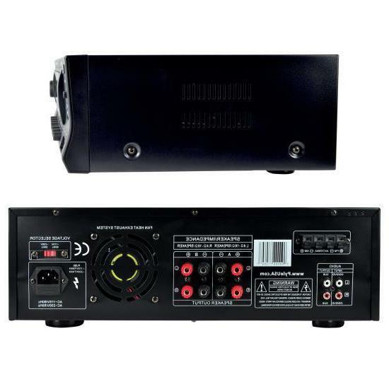 Pyle PT272AUBT Watt Stereo Receiver AM-FM
