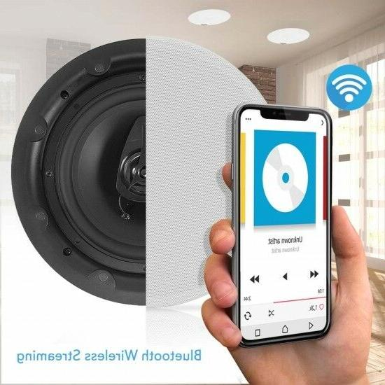 Pyle PWRC85BT 2-Way In-Wall/Ceiling Bluetooth Magnetic