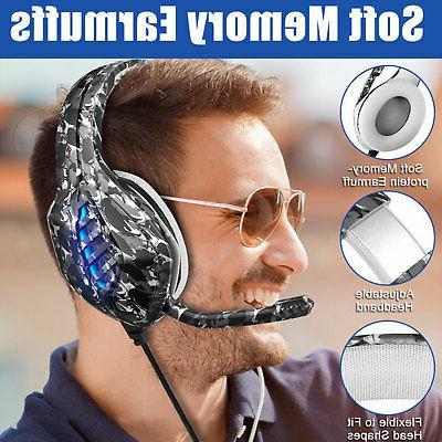 RGB Gaming Headset Headphone
