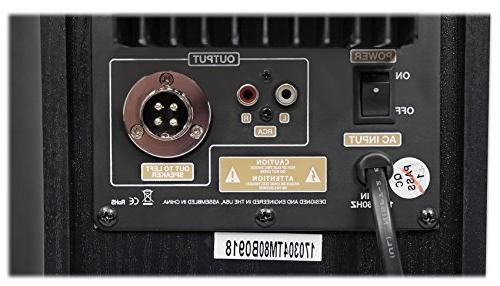 "Rockville TM80B Theater Speakers 8"" Sub/Bluetooth/USB"