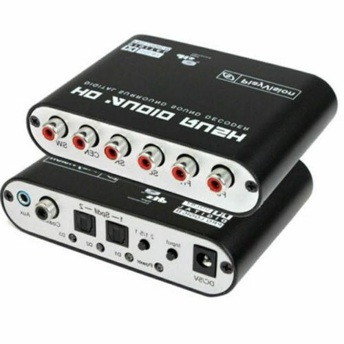 Rush Sound Analog DTS To 5.1 Audio