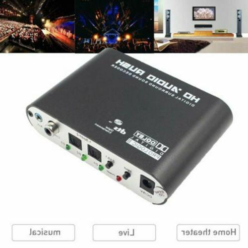 rush surround sound decoder analog converter dts