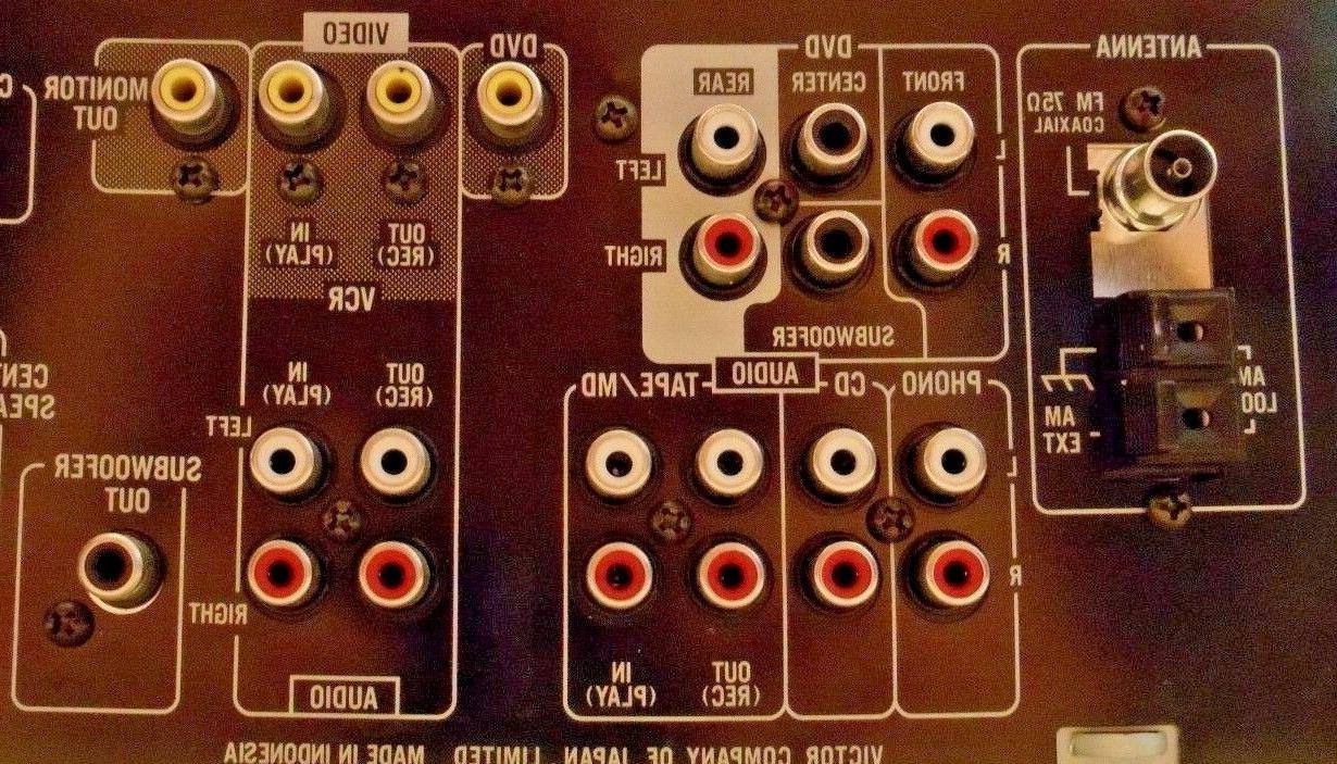 JVC RX-5000V Audio/Video Sound 100 Watts