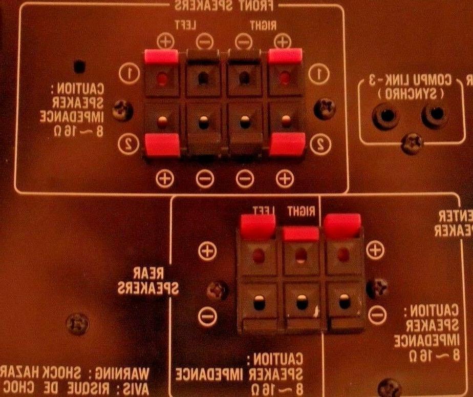 JVC RX-5000V Surround Sound per