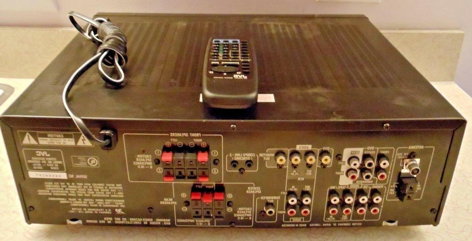 JVC RX-5000V Sound 100 per
