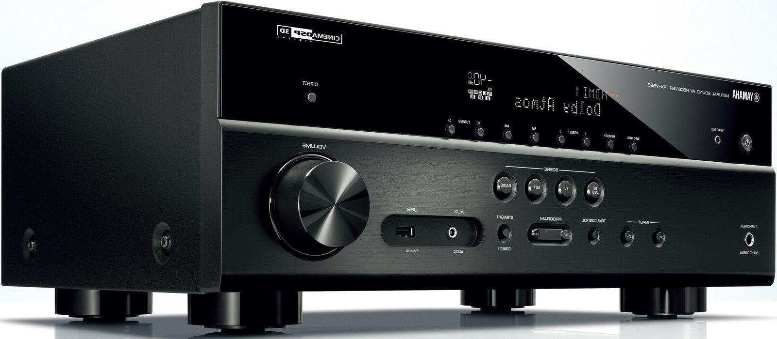 Yamaha RX-V583 Bluetooth Receiver HDR AirPlay Atmos DTS:X