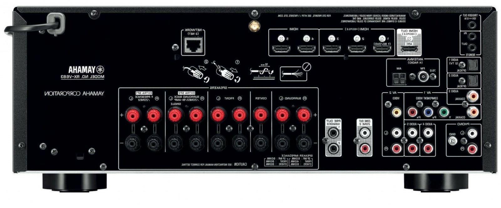 Yamaha 7.2 HDR AirPlay Atmos DTS:X