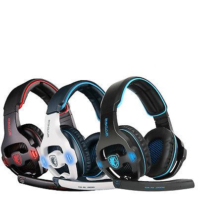 SADES SA-903 Gaming Headset Stereo7.1 Surround Sound USB Hea