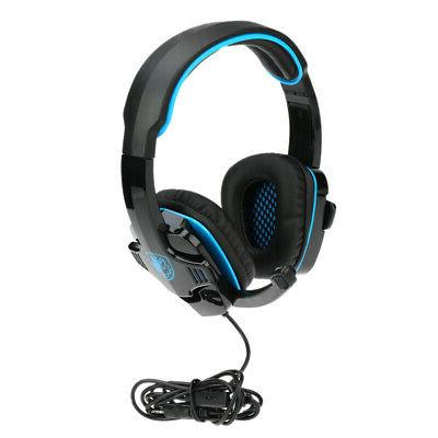 3.5mm Surround Earphone Headset for PS4 Tablet PC