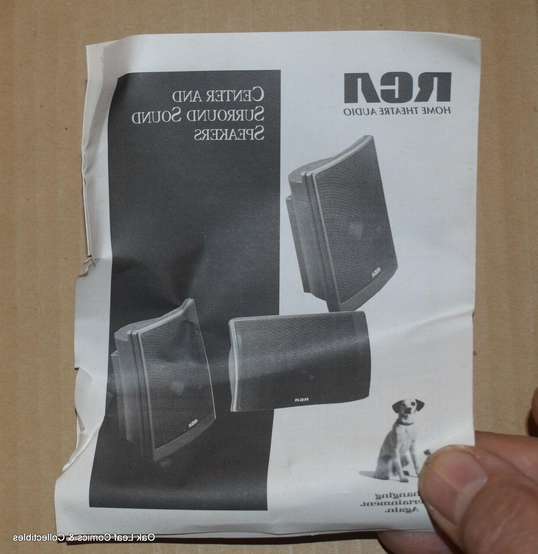 Set RCA Sound Speakers Left & Center 8 ohm SP3700S3