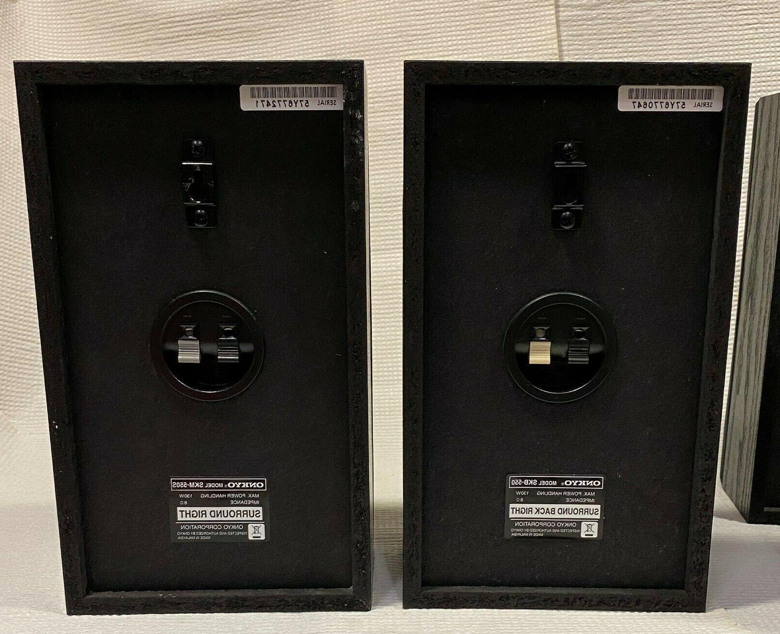Set Surround Sound Speakers SKM-550S NEW