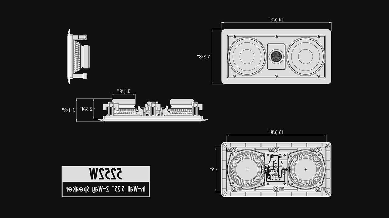 Silver Ticket Sound Speaker Ceiling 1x 2x
