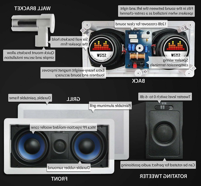 Silver Speaker 1x 5252W, 2x 652C