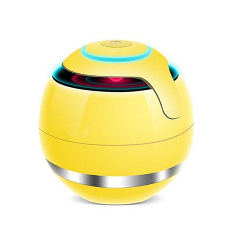 Smart Touch control <font><b>7</b></font> colors LED light emitting FM <font><b>sound</b></font> box