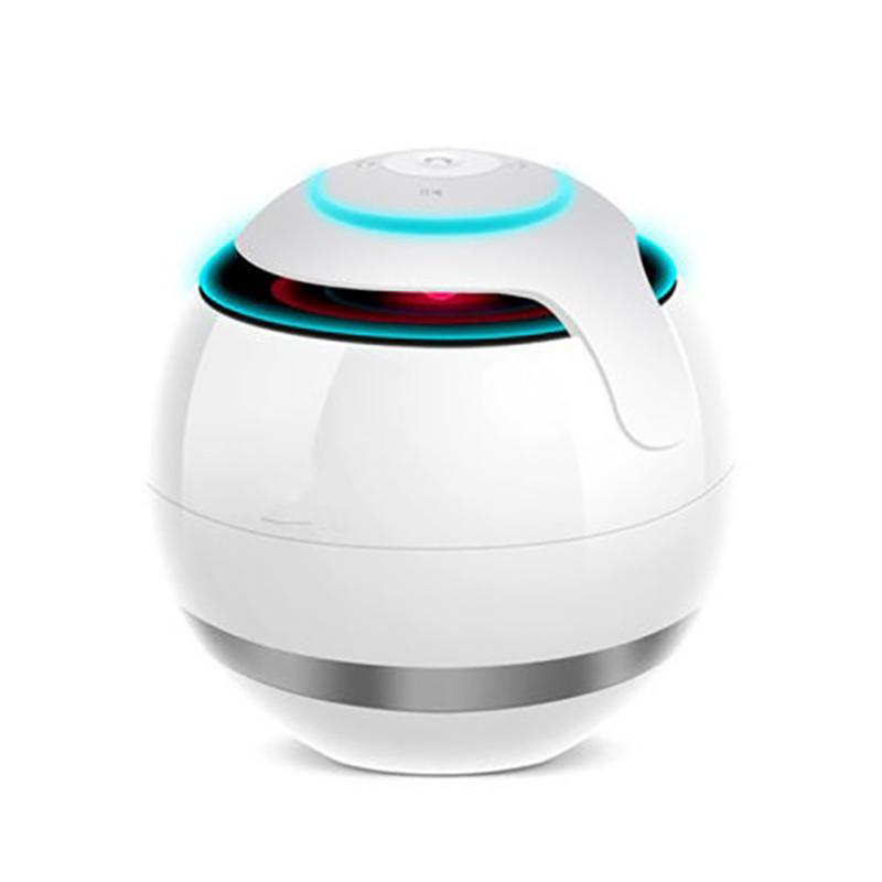 Smart speakers stereo <font><b>sound</b></font> effect Touch control HD <font><b>7</b></font> colors LED emitting FM TF card <font><b>sound</b></font> box