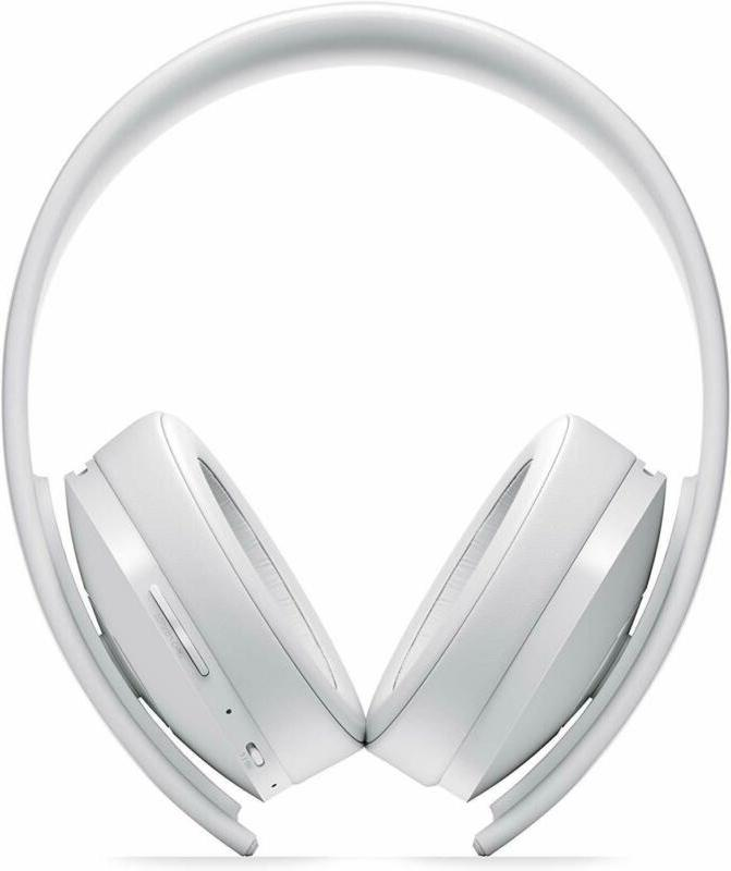 Sony Interactive Entertainment Gold Wls Headset White PlayStation 4