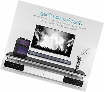 LuguLake 2.1 TV bar with Subwoofer, Bluetooth,...
