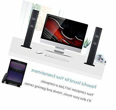 LuguLake Soundbar, Channel TV bar System with